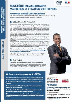 master MSE Marseille